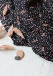 Tissu Crêpe de viscose Dune Nighth - Atelier Brunette