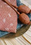 Tissu Crêpe de viscose Dune Chestnut - Atelier Brunette