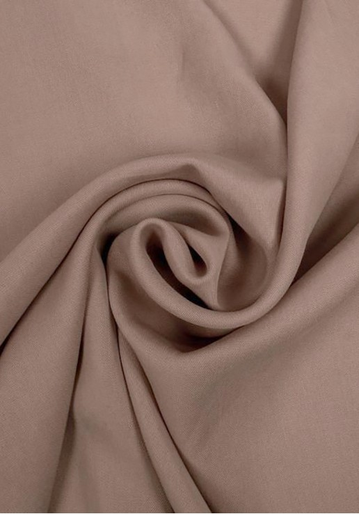 Tissu tencel - Beige rosé
