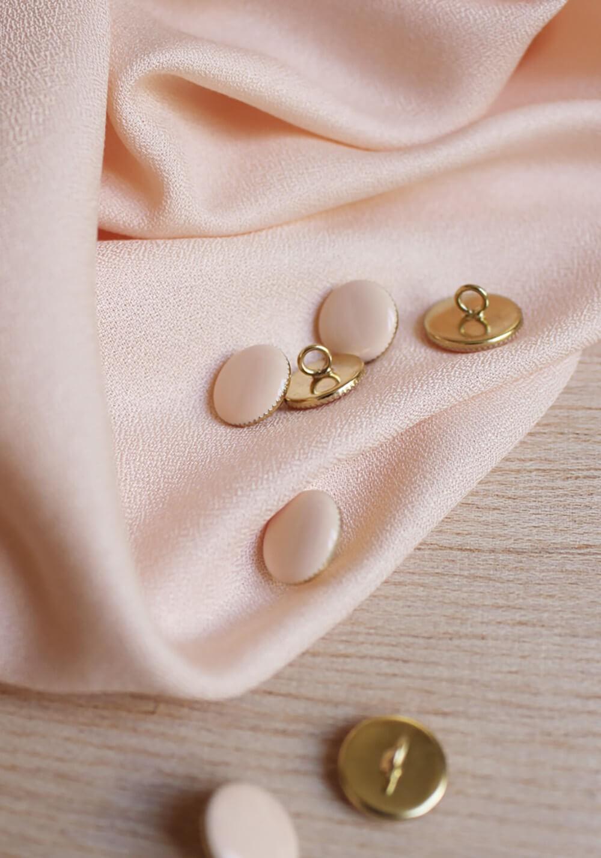 Tissu crêpe powder - Atelier Brunette