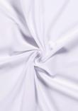 Tissu jersey de coton - Blanc