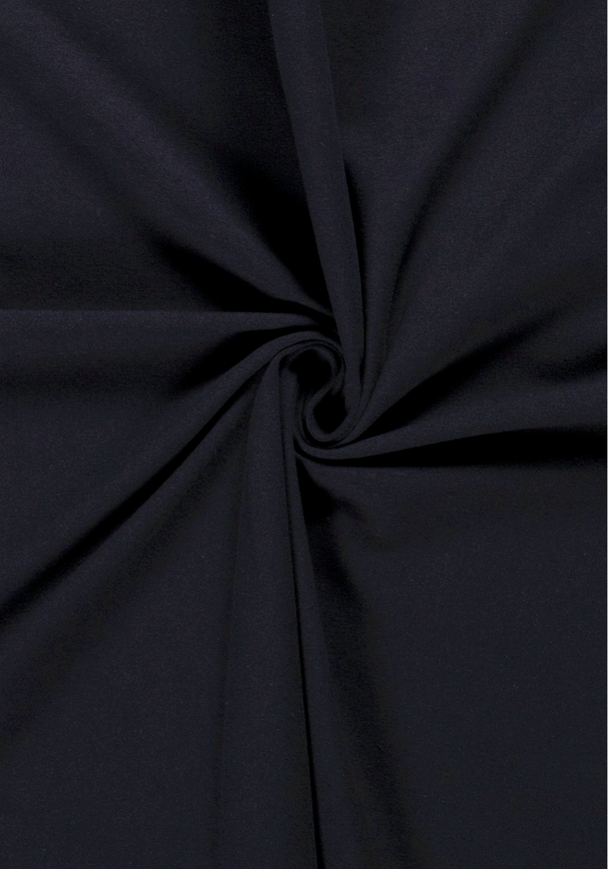 Tissu jersey de coton - Bleu marine