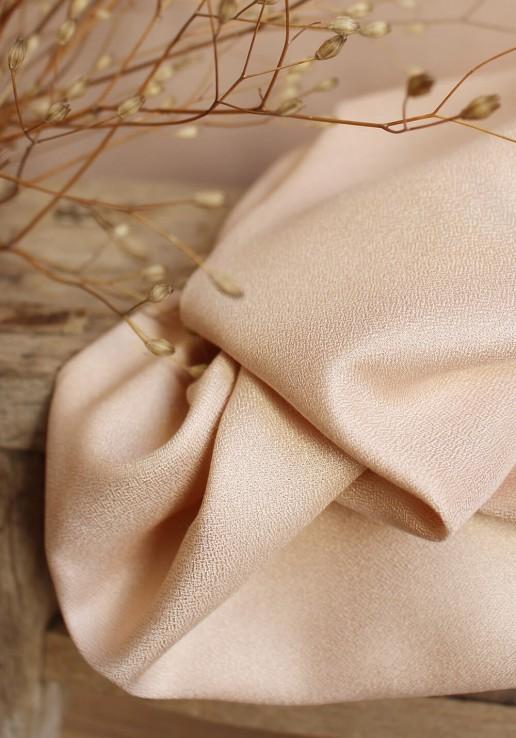 Tissu crêpe Blush - Atelier Brunette