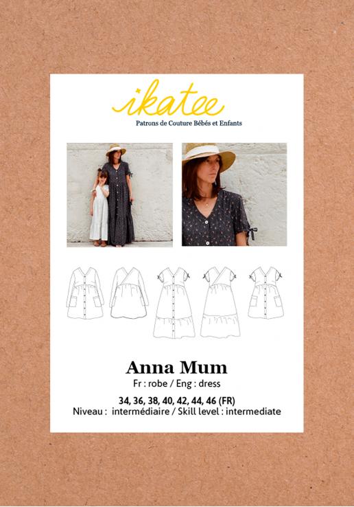 Patron robe ANNA - Ikatee