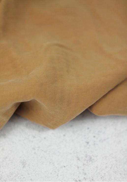 Tissu viscose texturé - Miel