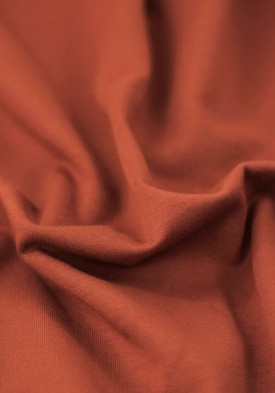 Tissu Molleton - Terracotta