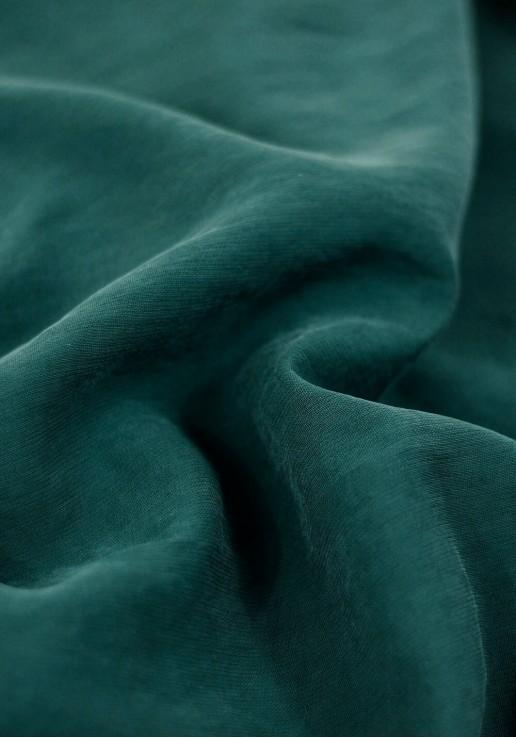 Tissu viscose texturé - Vert Forêt