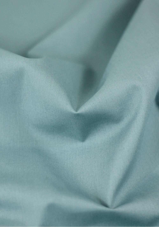 Tissu popeline - Bleu Lagon