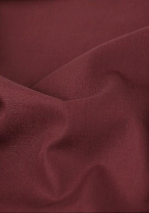 Tissu popeline - Bordeaux