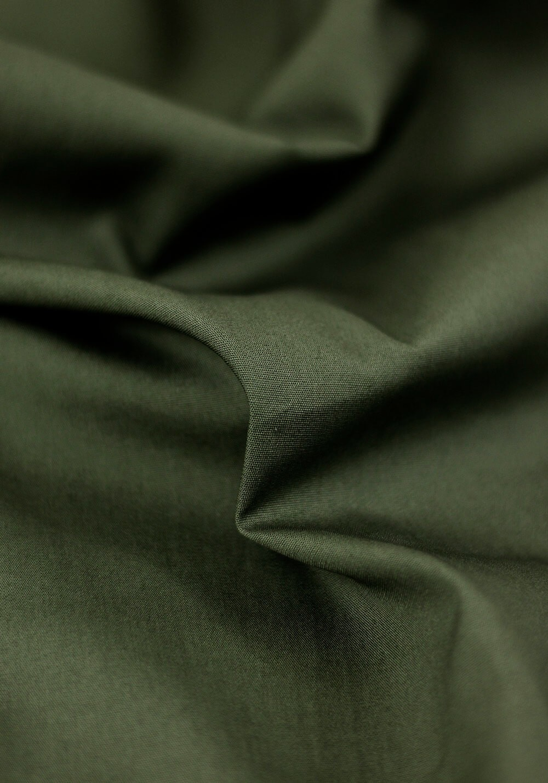 Tissu popeline - Kaki