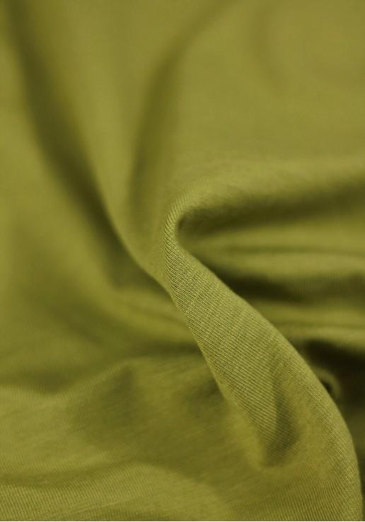 Tissu Jersey Bambou - Anis