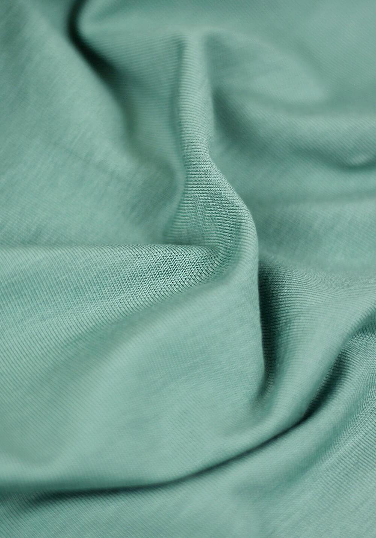 Tissu Jersey Bambou - Vert ancien