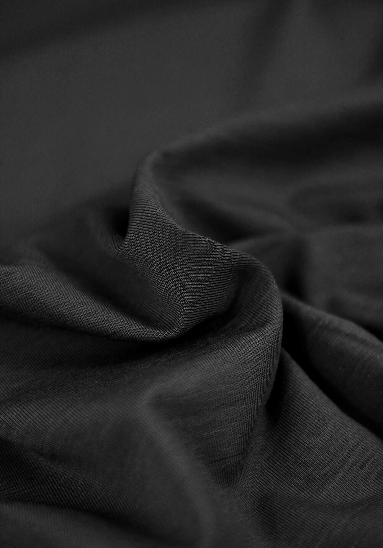 Tissu Jersey Bambou - Noir