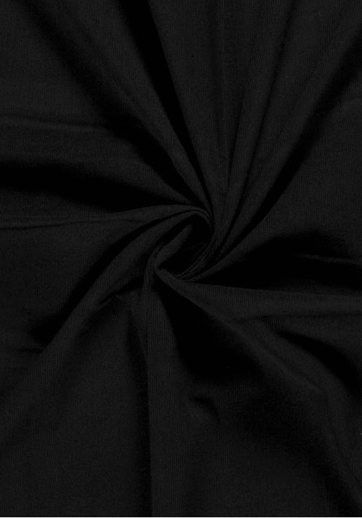 Velours Babycord noir