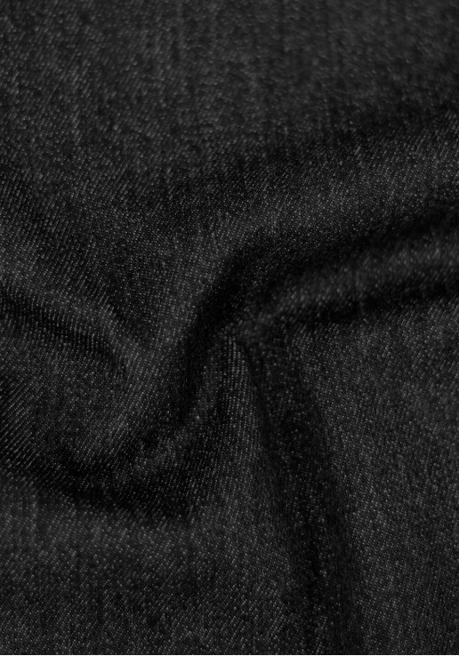 Tissu Denim Jean Stretch - Black