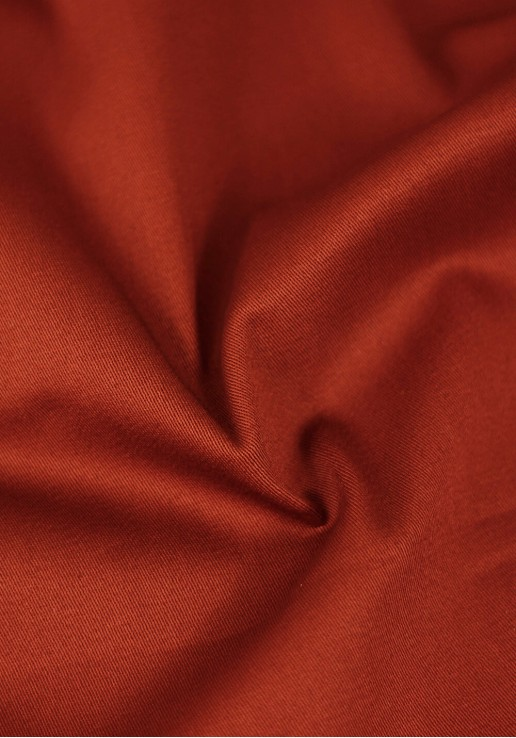 Tissu gabardine stretch - Terracotta