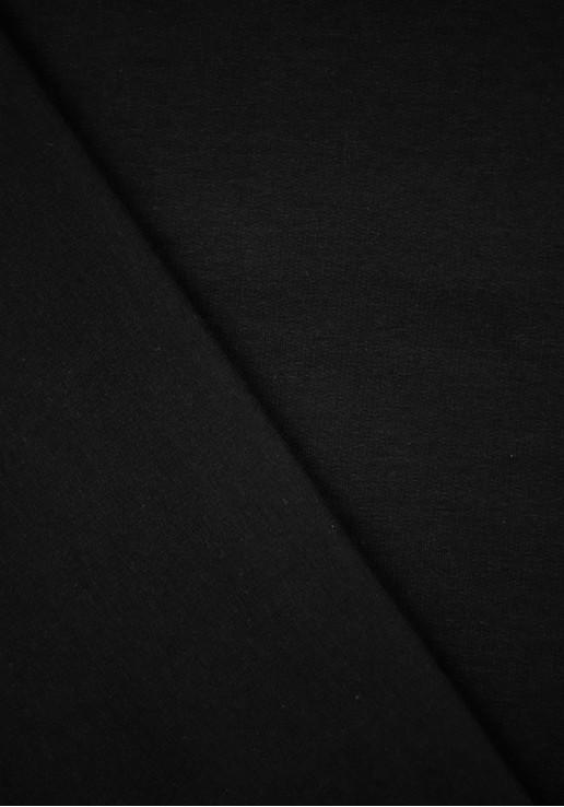 Tissu Molleton - Noir