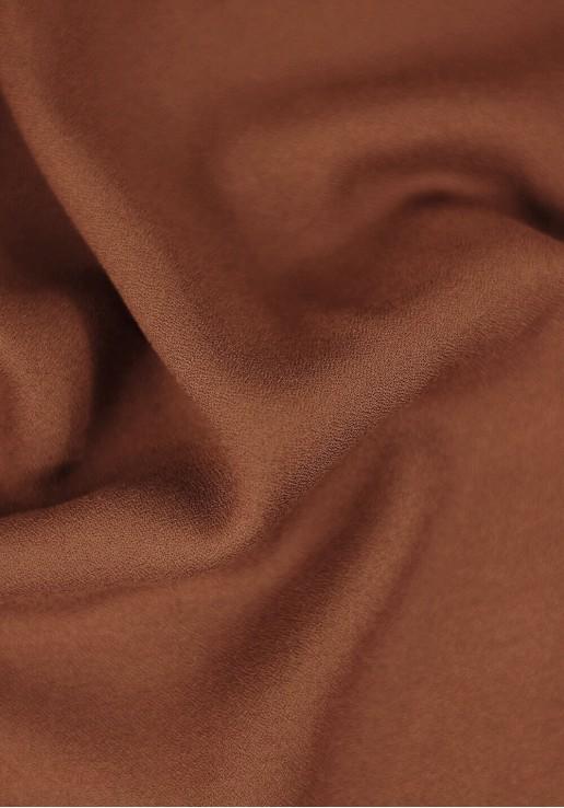 Tissu crêpe de viscose - Écureuil