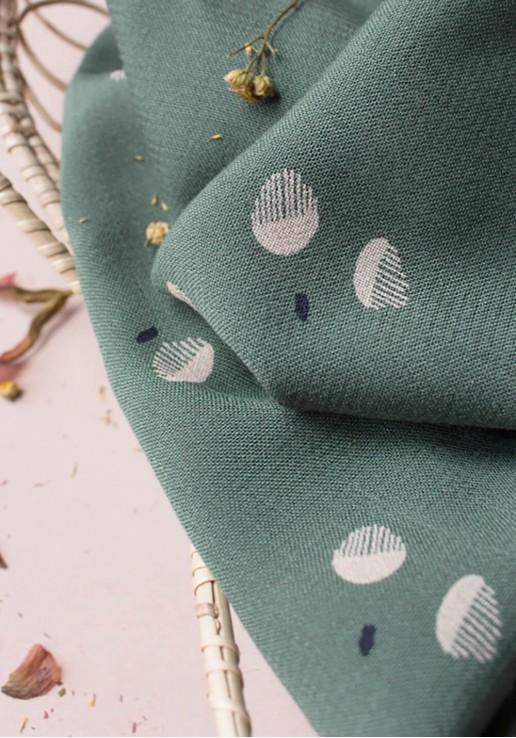 Tissu crêpe de viscose Seed Cedar - Atelier Brunette