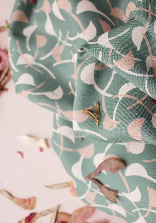 Tissu viscose Windy Cedar - Atelier Brunette