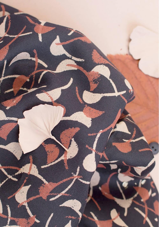 Tissu viscose Windy Night - Atelier Brunette