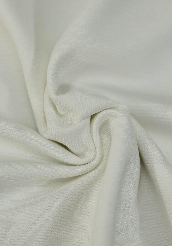 Tissu jersey milano - Écru
