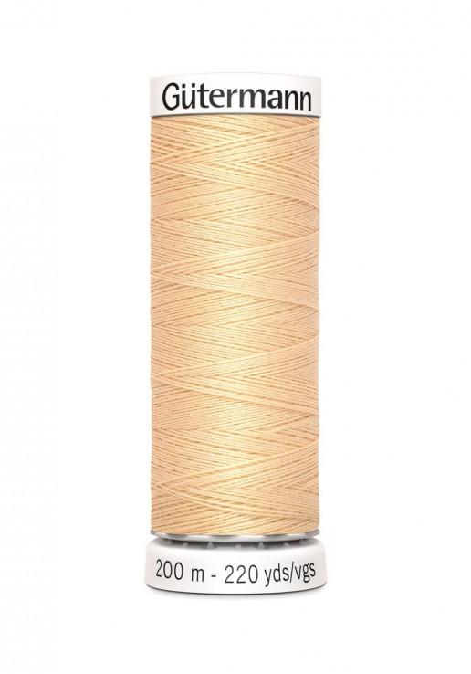 Fil à coudre 200m - 006 - Gutermann Polyester