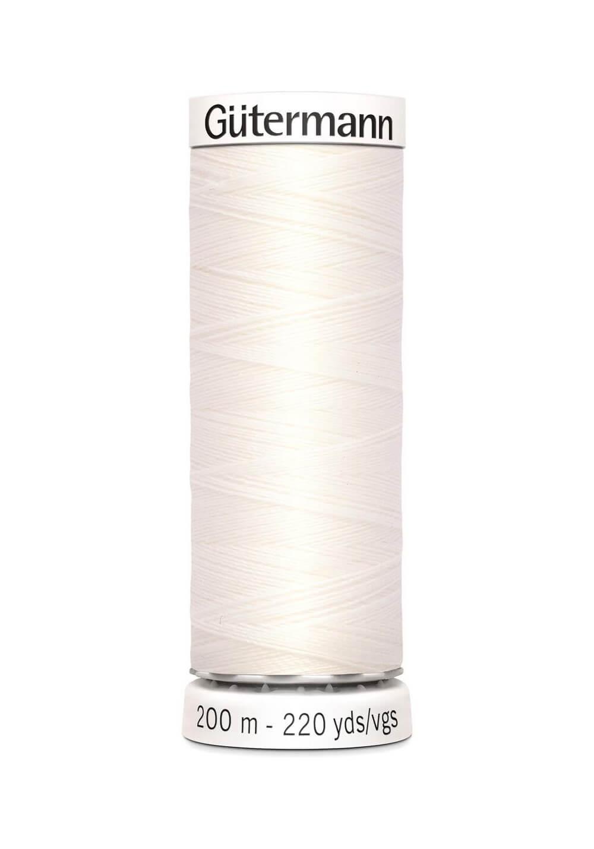 Fil à coudre 200m - 111 - Gutermann Polyester