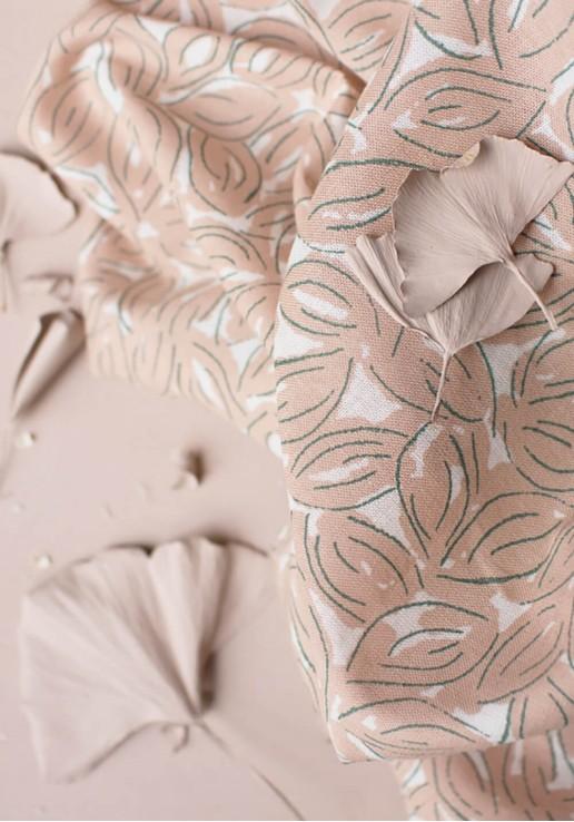 Tissu Gaze de Coton Petal Maple - Atelier Brunette