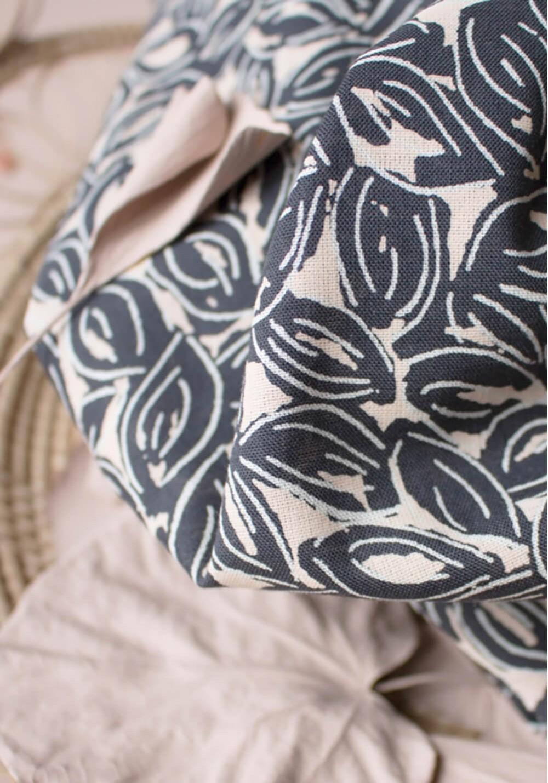 Tissu Gaze de Coton Petal Night - Atelier Brunette