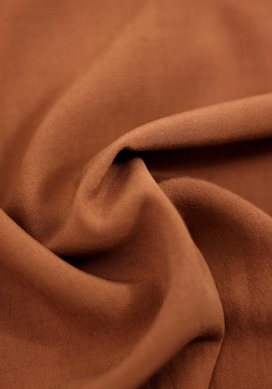 Tissu crêpe de viscose merveilleuse - Chutney