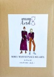 Robe/Blouse Place des Arts - Atelier 8 Avril