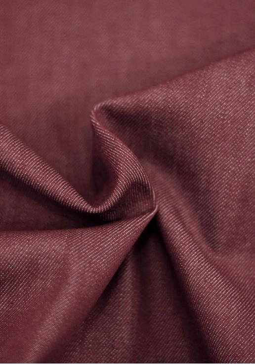 Tissu denim - Bourgogne
