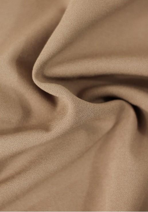 Tissu crêpe lourd - Moccha