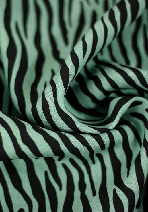 Tissu viscose Wild - Tilleul