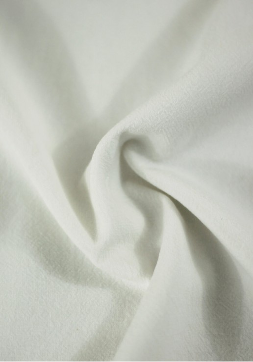 Tissu coton lavé - Écru