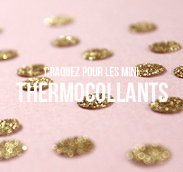 Les mini motifs thermocollants