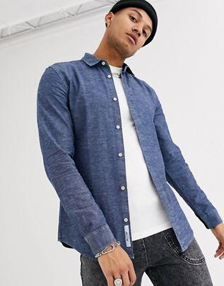 Inspiration d'un modèle de chemise pour homme de chez Asoos