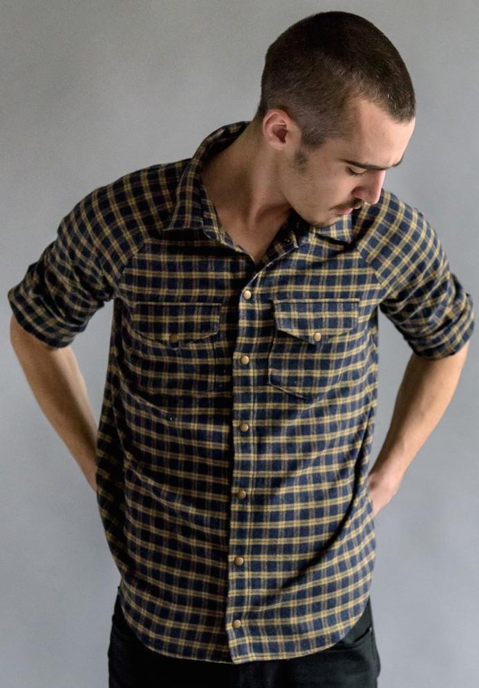 Patron de couture pour homme, la chemise Aime comme Musc de la marque indépendante Aime Comme Marie