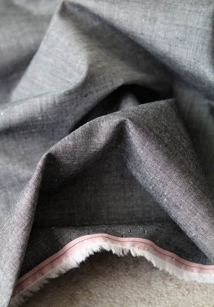Idée de tissu pour homme avec un chambray noir