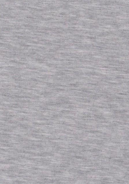 Tissu jersey viscose gris clair chine idéal pour coudre un tshirt pour homme