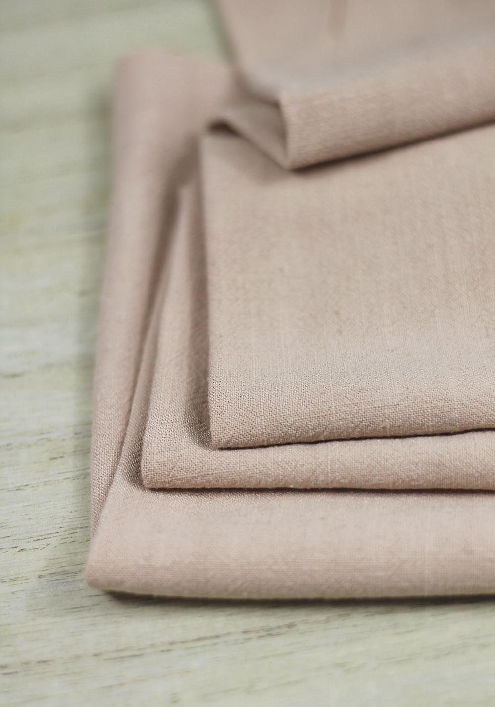 Idée de tissu pour homme avec un lin couleur brique