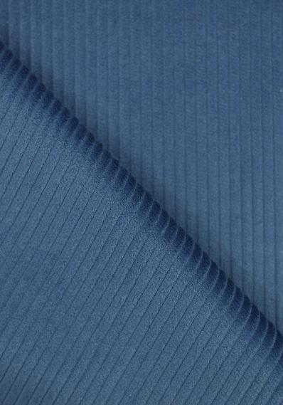 Velours grosses cotes bleu clair